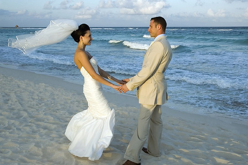 tengerparti eskuvo ceremónia tengerparton görögországban makrygialos andromeda travel 3 utazás