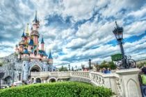 http://www.dreamstime.com/royalty-free-stock-image-fairytale-castle-france-disney-bridge-bright-sunny-day-image31892146