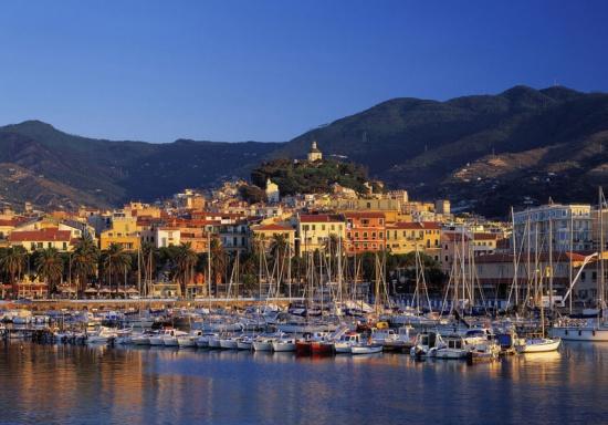 The harbour, San Remo, Provinz Imperia, Italienische Riviera, Ligurien, Italien