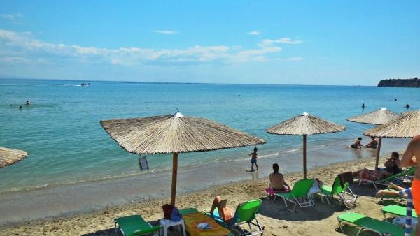 Star Beach Rezidencia Resort közvetlen tengerparti strandhotelapartman Görögországban, az egyetlen ilyen Makrygialos nyaralóhelyen.